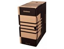 Archívny box DONAU 155mm hnedý