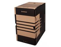 Archívny box DONAU 200mm hnedý