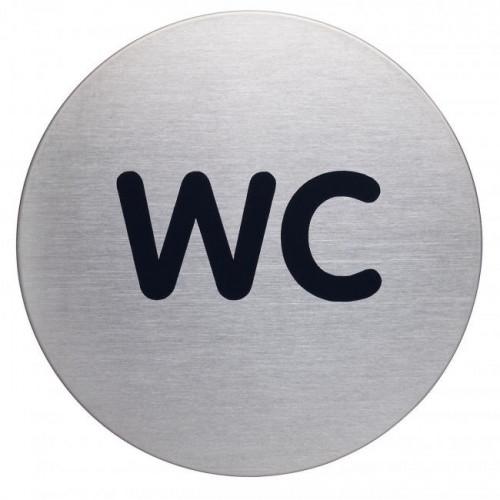 Piktogram WC text