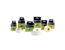 Samolepiace etikety Dymo LW 25x25mm viacúčelové biele
