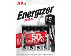 Batéria alkalická Energizer Max 1,5 V, typ AA,4 ks