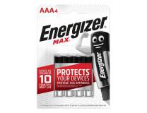Batéria alkalická  Energizer Max 1,5 V, typ AAA,4ks