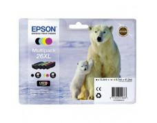 Atrament Epson C13T26364010 CMYK 26XL Claria