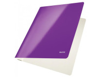 Rýchloviazač Leitz WOW purpurový