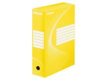 Archívny box Esselte 100mm žltý/biely