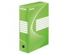 Archívny box Esselte 100mm zelený/biely