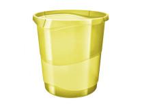 Kôš plastový Esselte Color'Ice 14l žltý