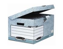 6b403b0cd Archívna škatuľa so sklápacím vekom Fellowes BANKERS BOX sivá/biela