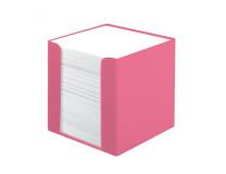 Blok kocka 9x9x9 cm  700 listov Color Blocking indonézska ružová