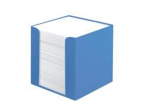 Blok kocka nelepená Herlitz Color Blocking 90x90x90mm baltická modrá