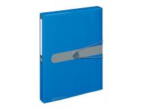 Box na spisy s gumičkou Easy Orga A4 PP modrý