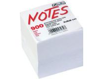 Blok kocka lepená Herlitz 90x90x90mm biela