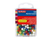 Napichovacie špendlíky Herlitz mix farieb 100ks