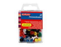 Napichovacie špendlíky Herlitz mix farieb 60ks