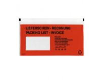 Vrecká na sprievodky Herlitz DL 22x11 100ks
