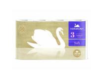 Toaletný papier 3-vrstvový Harmony Soft CREAM Aroma biely 8 ks