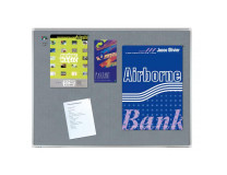 Tabuľa napichovacia PREMIUM 90x120 cm sivá