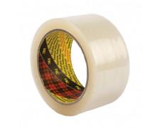 Baliaca páska s tichým odvíjaním 50mmx66m priehľadná