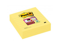 Bloček Post-it Super Sticky 101x101 žltý linajky