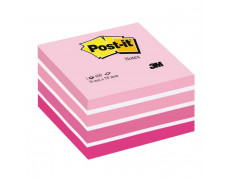Bloček kocka Post-it 76x76 ružová