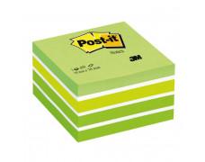 Bloček kocka Post-it 76x76 zelená