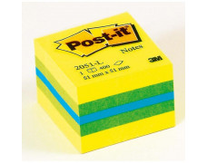 Bloček kocka Post-it 51x51 mini mix farieb