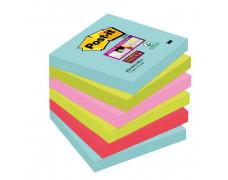 Bločky Post-it Super Sticky _Miami_ 76x76mm