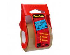 Baliaca páska Scotch 50mmx20m s dispenzorom hnedá