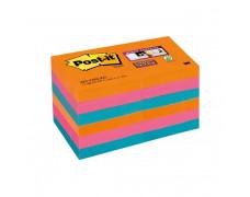 Bločky Post-it Super Sticky _Bangkok_ 47,6x47,6mm