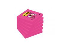 Bločky Post-it Super Sticky - Fuchsia 76x76mm