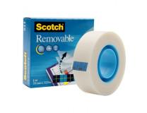 Lepiaca páska Scotch Removable odnímateľná 19mmx33m