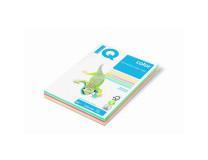 Farebný papier IQ color 5x50 mix pastelové farby, A4 80g