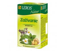 Čaj LEROS Natur bylinný na dýchacie cesty šípka & baza 10x1,5 g