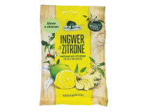 Cukríky bez cukru zázvor a citrón  65g