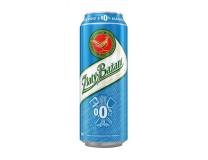 Pivo Zlatý Bažant 0% svetlé nealko 0,5l 24ks plech