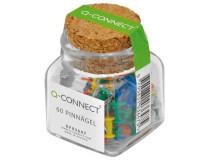 Napichovacie špendlíky Q-Connect mix farieb 60ks