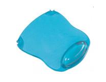 Podložka pod myš a zápästie gélová Q-CONNECT modrá