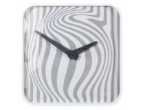 Nástenné hodiny artetempus Opta 35x35cm biele