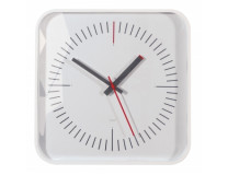 Nástenné hodiny artetempus Litho 35x35cm biele