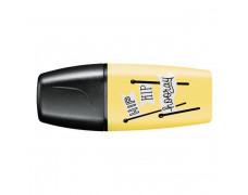 Zvýrazňovač STABILO BOSS mini pastelový žltý